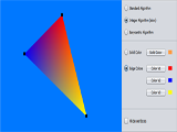 Filling triangle applet screenshot